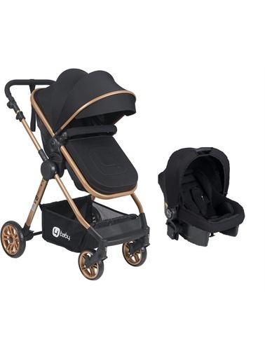 4 Baby Cool Gold Travel Sistem Bebek Arabası Ab-480 Four Baby Siyah